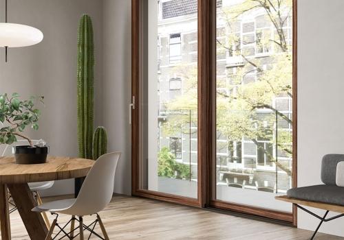 legno alluminio sciuker frames
