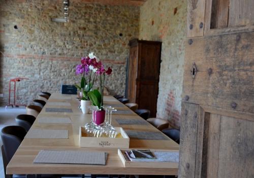 Casa Visette piano tavolo in legn rovere