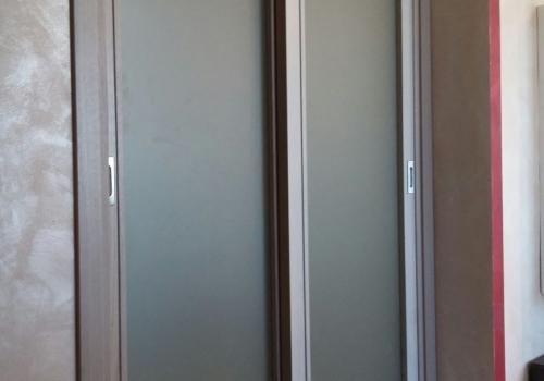 Porta interna doppia a vetro